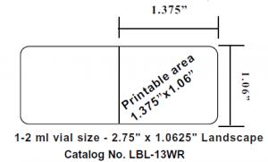 freezerworks label sizes