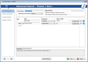 Freezerworks Advanced Search received an impressive update