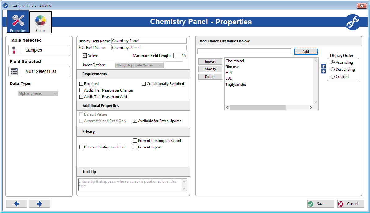 Multi-Select Choice list field gives you the opportunity to select multiple different choices per field